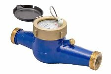 "NEW PRM 2"" NPT MULTI-JET WATER METER PULSE OUTPUT NIB"