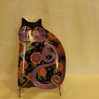 "8"" plate Royal Doulton ""Feline Fantasy"" by Laurel Burch"