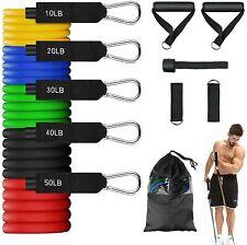 Bande de Résistance Elastique 11 pcs Musculation Fitness Sport Entraînement Yoga