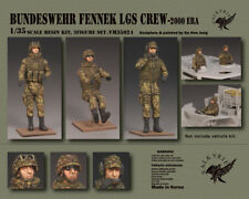 1/35 Scale Model Kit Bundeswehr Fennek LGS Crew - 2000 Era (3 Figuren)