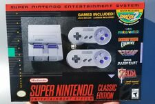 Super Nintendo Entertainment System SNES Classic 2017 Mini NEW *IN HAND*