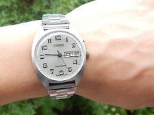 USSR Russian Soviet Mechanical Men's Watch SLAVA Automatic, Day&Date, 1990s