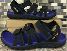 Nike ACG Men's Black Purple 3 Strap Sport Sandals Size 12 M Hiking Outdoor Shoes
