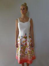 Vintage true 1970s unused 10 S princess cotton sun midi dress floral