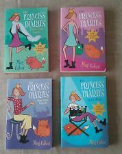 The Princess Diaries by Meg Cabot x 4