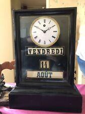 Pendule Quantiemes Complications Calendar Clock 19 Th Century Kaminuhr1850