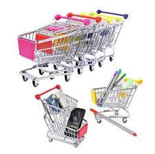 Gift Toy Mini Storage Basket Supermarket Utility Pop Shopping Cart Mode Handcart