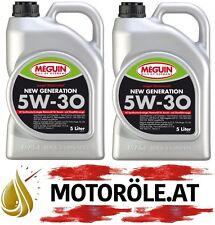 2x5l Meguin megol Motoröl New Generation SAE 5W-30 10 Liter