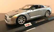 Maisto 2009 Nissan GT-R (R35) 2020 Special Edition Silver 1:18 Scale #31704 New