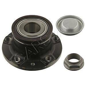 SWAG Wheel Bearing Kit Rear Axle Fits PEUGEOT 407 Rcz Coupe 3748.89