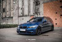 schwarz hochglänzende Nieren BMW 3er E91 Touring LCI M3 Set salberk 9002DL