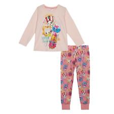 Debenhams Shopkins Pijama Conjunto Rosa edad 5/6 años RRP £ 16 DH082 CC 17
