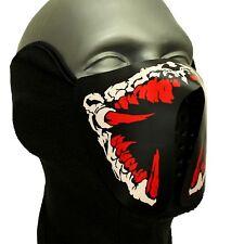 LED Horror-Maske ®Ucult Halloween Maske Fasching Maskerade Cosplay horror Party