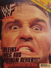 WWE Magazin 9/98 deutsch WWF Wrestling Kane Ken Shamrock Mankind