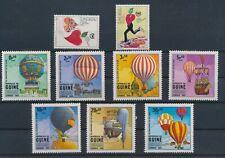 LM79801 Guinea-Bissau hot air balloons fine lot MNH