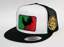 Oaxaca Mexico Hat Mesh Trucker Black Snap Back Adjustabl New 2Logos