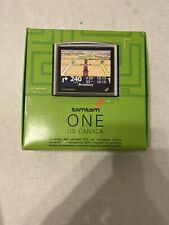 TomTom One Portable Car Lcd Gps System Us Canada Maps Plus Carry Case & Strap