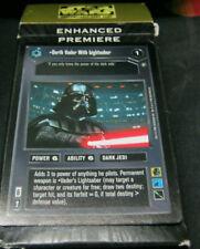 Star Wars CCG Enhanced Premiere Expansion Pack: Darth Vader with Lightsaber !