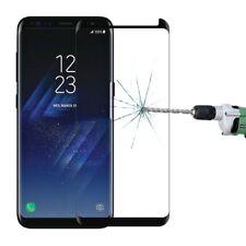 Samsung Galaxy S8 Schutzglas Schwarz Clear View Kratzerfest Stoßsicher