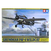 Tamiya Grumman F4F-4 Wildcat Model Set (Scale 1:48) 61034 NEW