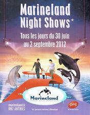 Publicité Advertising 018  2011  Parc aquatique Marineland & radio Chérie FM