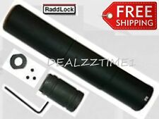 Raddlock Fake Can Barrel Extender 1/2x28 Barrel Adapter 556/22cal/223 Compliance