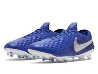 Nike Tiempo Legend 8 Elite FG Hyper Royal Blue/White Men's Size 13 AT5293-414
