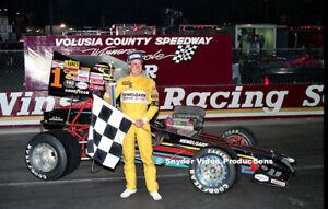 Davey Hamilton at Volusia County Speedway Photo