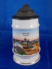 Tarro de memoria Gruss de REMSCHEID 1/4 L. Imagen de la tierra 00 Porcelana