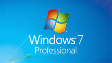Win7 Pro License Full Version Windows 7 Professional Pro 32/64-bit Product Key