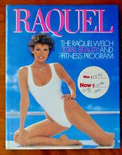 RAQUEL WELCH BEAUTY FITNESS PROGRAM 1984 FIRST ED 1st Pr Weinfeld PICS HCDJ VNT