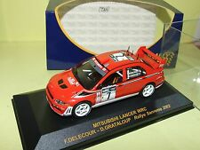 MITSUBISHI LANCER WRC RALLYE SANREMO 2002 DELECOUR RALLY CAR 1:43