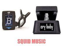 Jim Dunlop Cry Baby Mini Wah Pedal CBM95 Half Size ( FREE DUNLOP GUITAR TUNER )