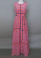 *Max Mara Long Summer Silk Dress Size 8 Made in Italy MSRP $695