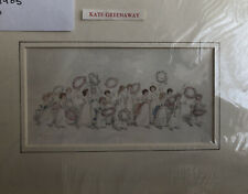 Kate Greenaway 1905 Original Print , Bridesmaids/ Mayday