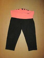 Womens VICTORIA'S SECRET PINK YOGA athletic capri pants sz S Sm running gym
