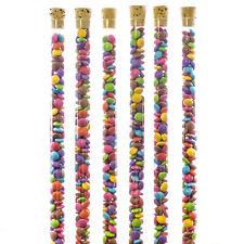 Novelty Sweet Tubes With Cork Lids x500 Empty Fillable Bulk Wholesale Joblot
