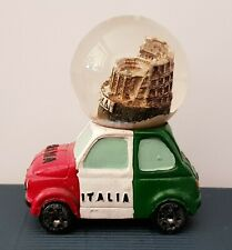 Souvenir Snowglobe 3D, Roma Italia, Collesium, New.