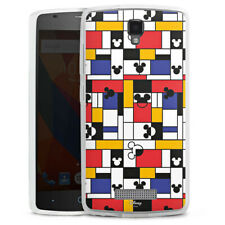 ZTE Blade L5 Silikon Hülle Case Handyhülle - Mickey Squares