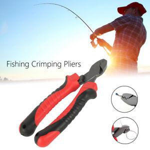 Fishing Crimping Pliers for Fishing Line Barrel Sleeves Fishing Cutter Scissors
