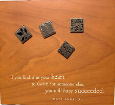 Maya Angelou Magnetic Board With Magnets. If You Find It In Your Heart