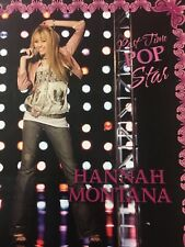 HANNAH MONTANA 2 POCKET FOLDER 4 PC