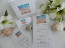 2 Hearts in the Sand Wedding, Engagement Invitations - Invite Samples ONLY $1