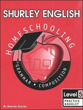 Shurley English Level 5 Practice Book - New