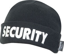 Seguridad Bob Sombrero Portero Reloj Beanie Patrulla Guardia Bouncer Lana Thinsulate PAC