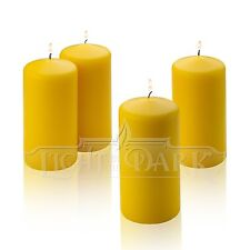 4 Citronella Scented Pillar Candle 6 Inch Tall X 3 Inch Wide