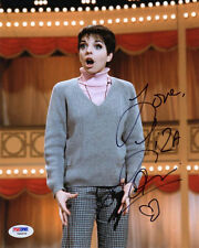 LIZA MINNELLI SIGNED AUTOGRAPHED 8x10 PHOTO SALLY BOWLES CABARET PSA/DNA