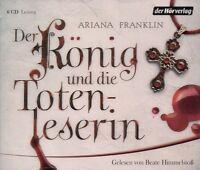Ariana Franklin - Der König und die Totenleserin 6 CD NEU Hörbuch CDs TOP Krimi