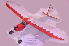 "Model Airplane Plans (RC-FF): Quaker Flash 34"" for .020 Engine / Elec. (Flyline)"