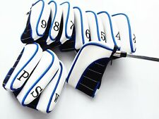 11 x Blue Ultimate Golf Iron Head Covers suit Ping, Titleist, Callaway, Mizuno